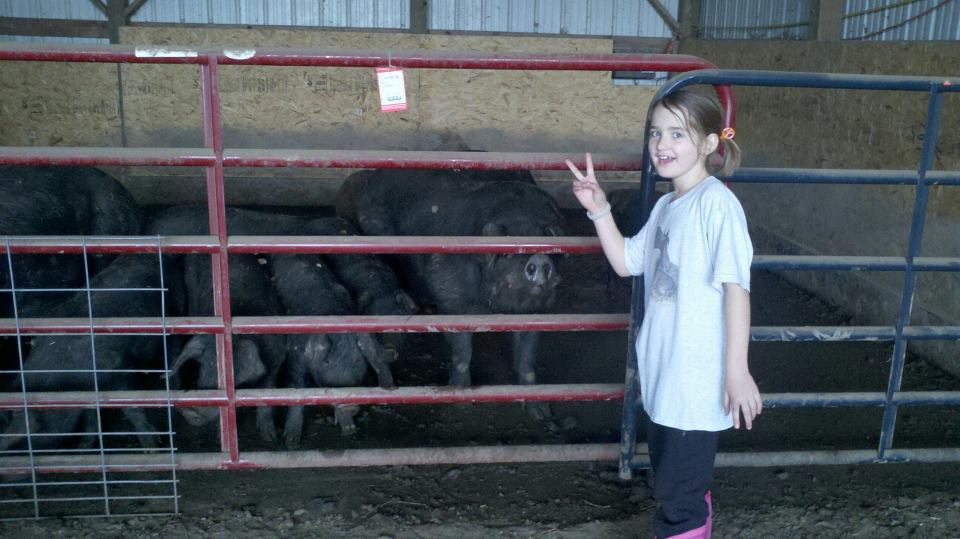 Hanging with the Piggies