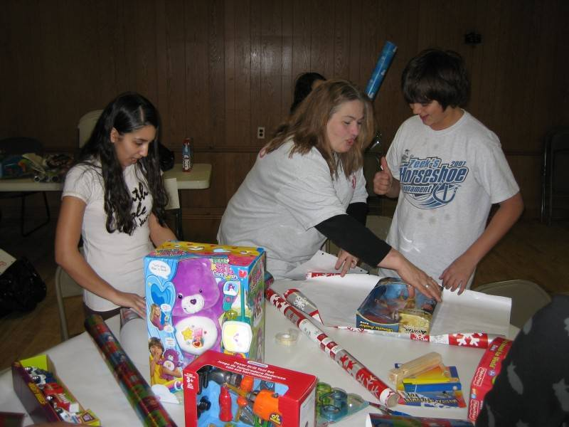 Cadet Wrapping Party 2007