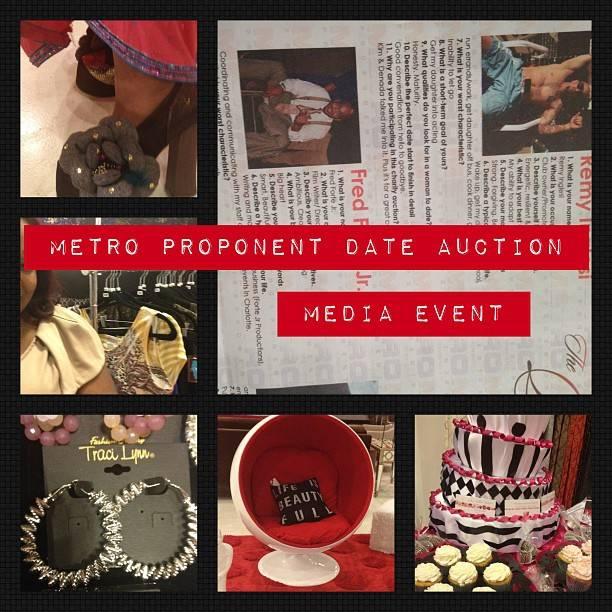 Metro Proponent Date Auction Media Event