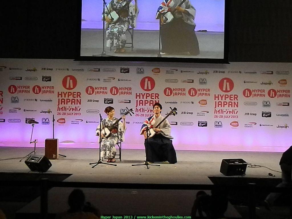Minyo with Hibiki Ichikawa (left)
