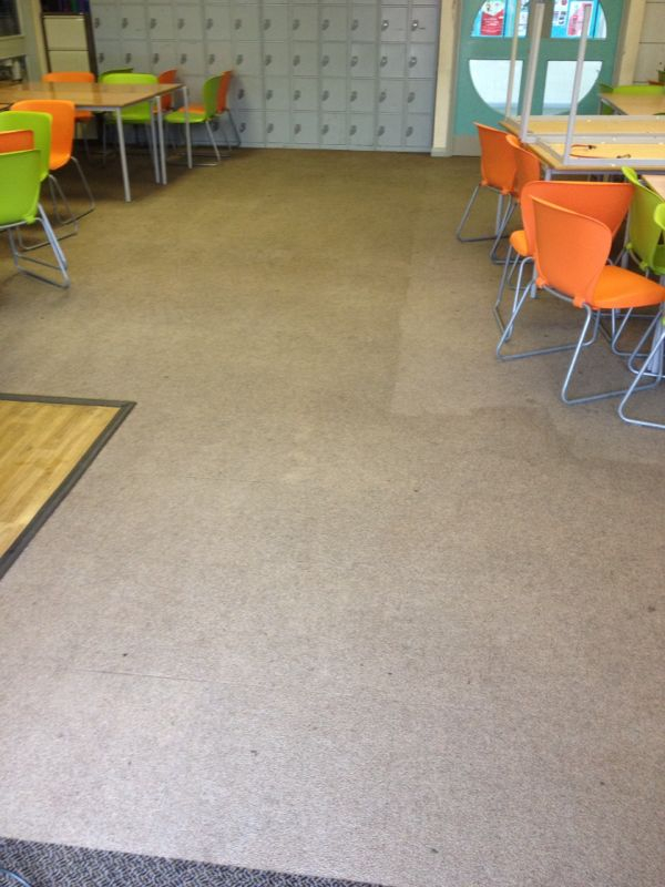 School holiday spring clean