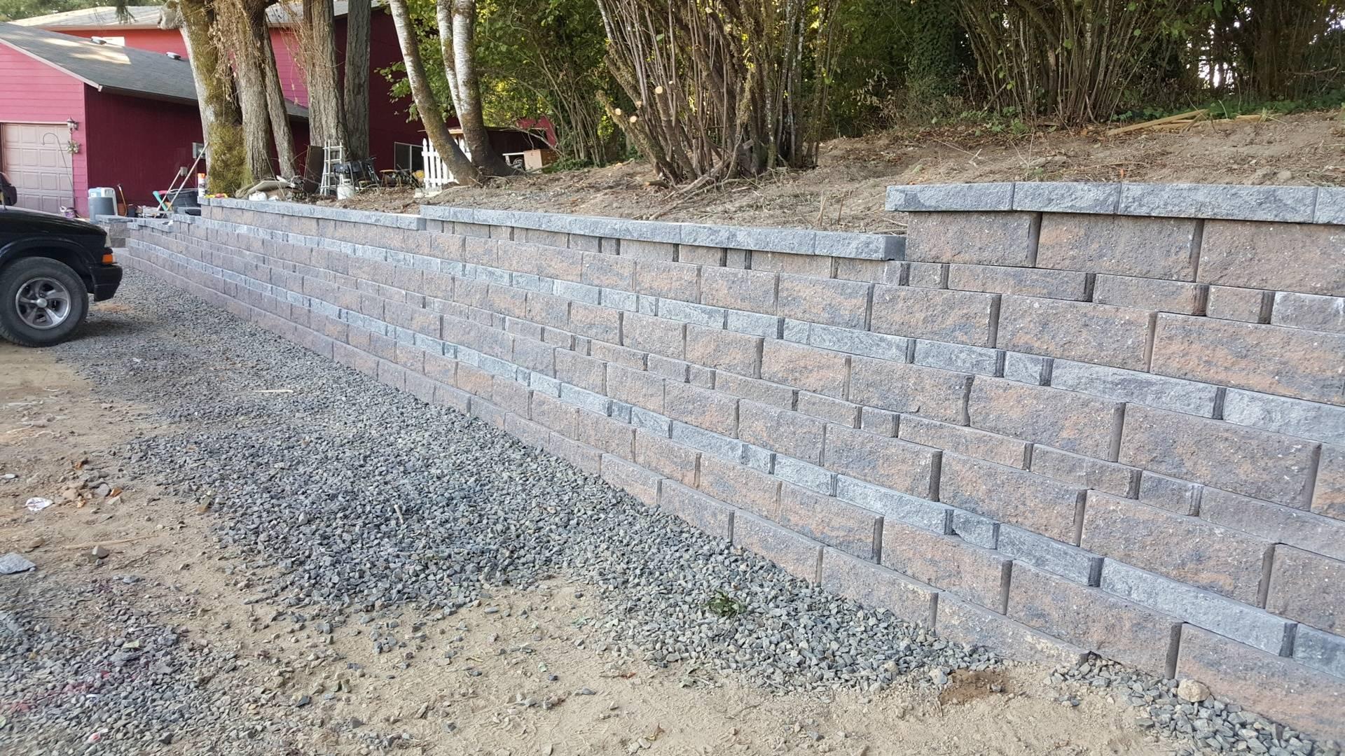 Segmental Retaining Wall in Hillsboro