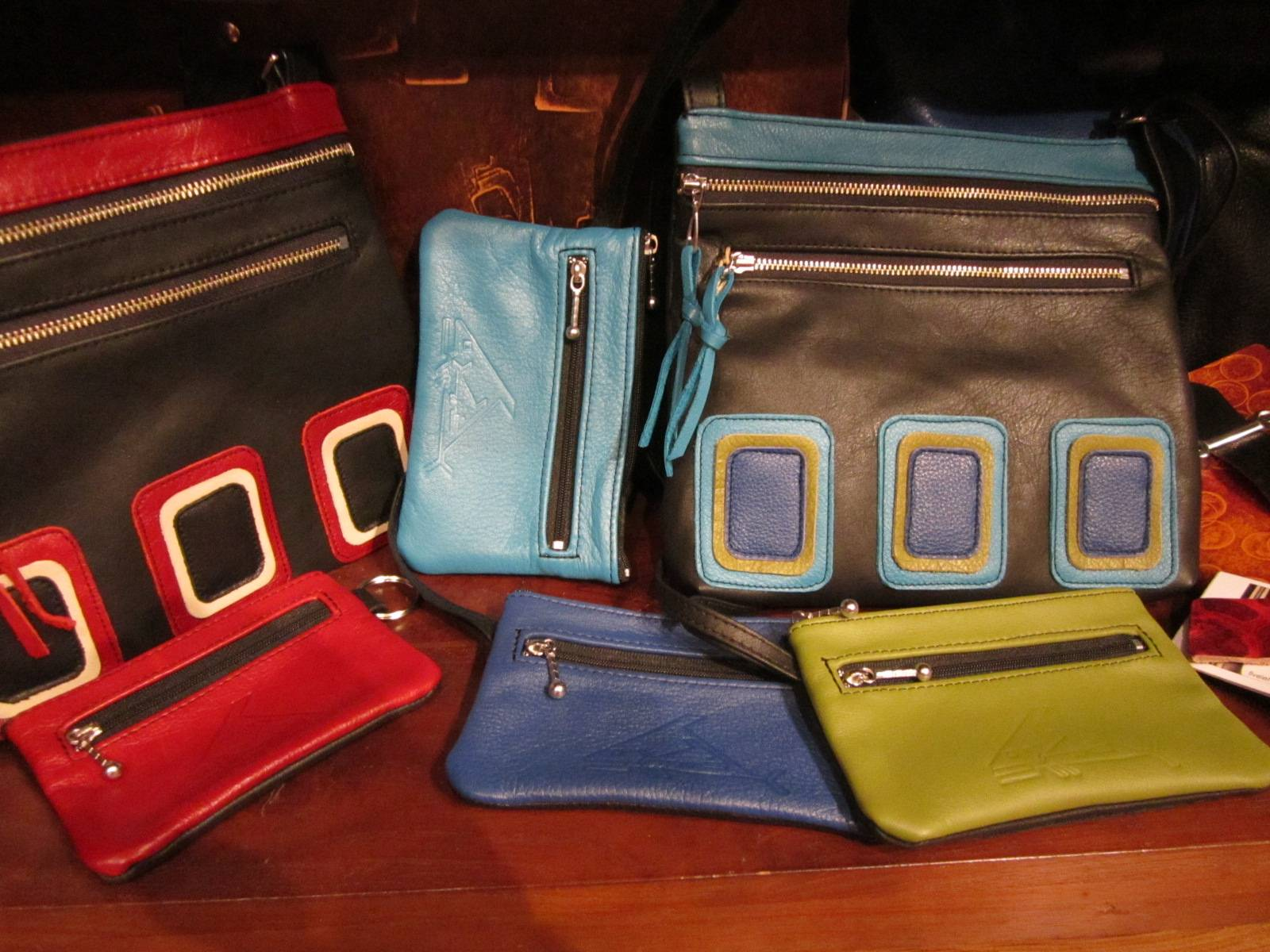 A wide variety of purses & bags