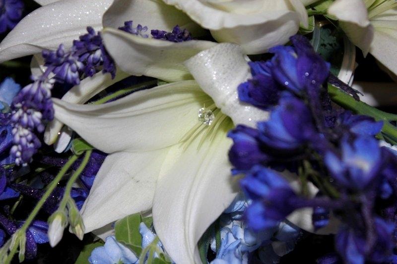 Bridal Bouquet -- Same bouquet, different view