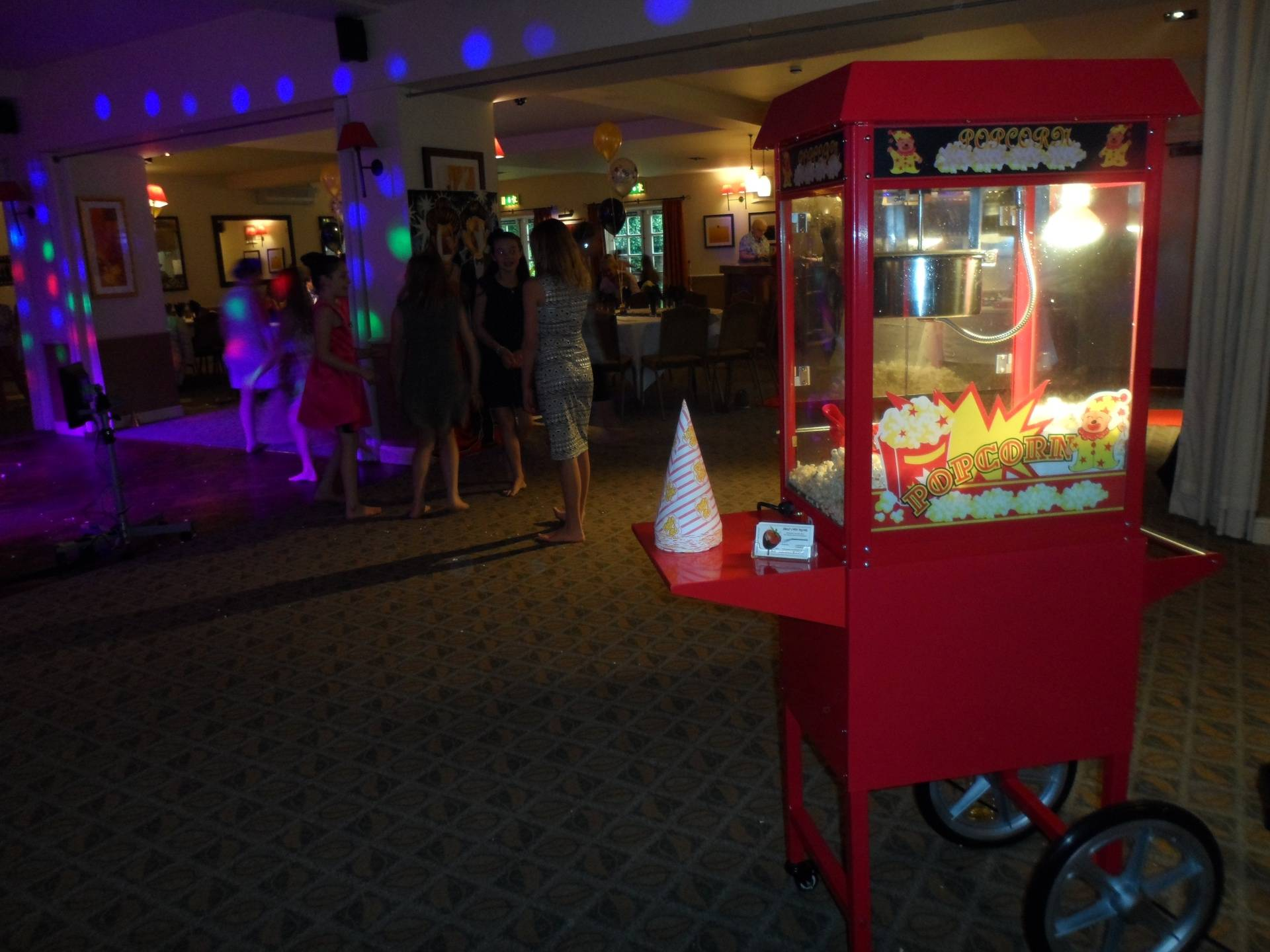 Popcorn  machine Hire, Doncaster