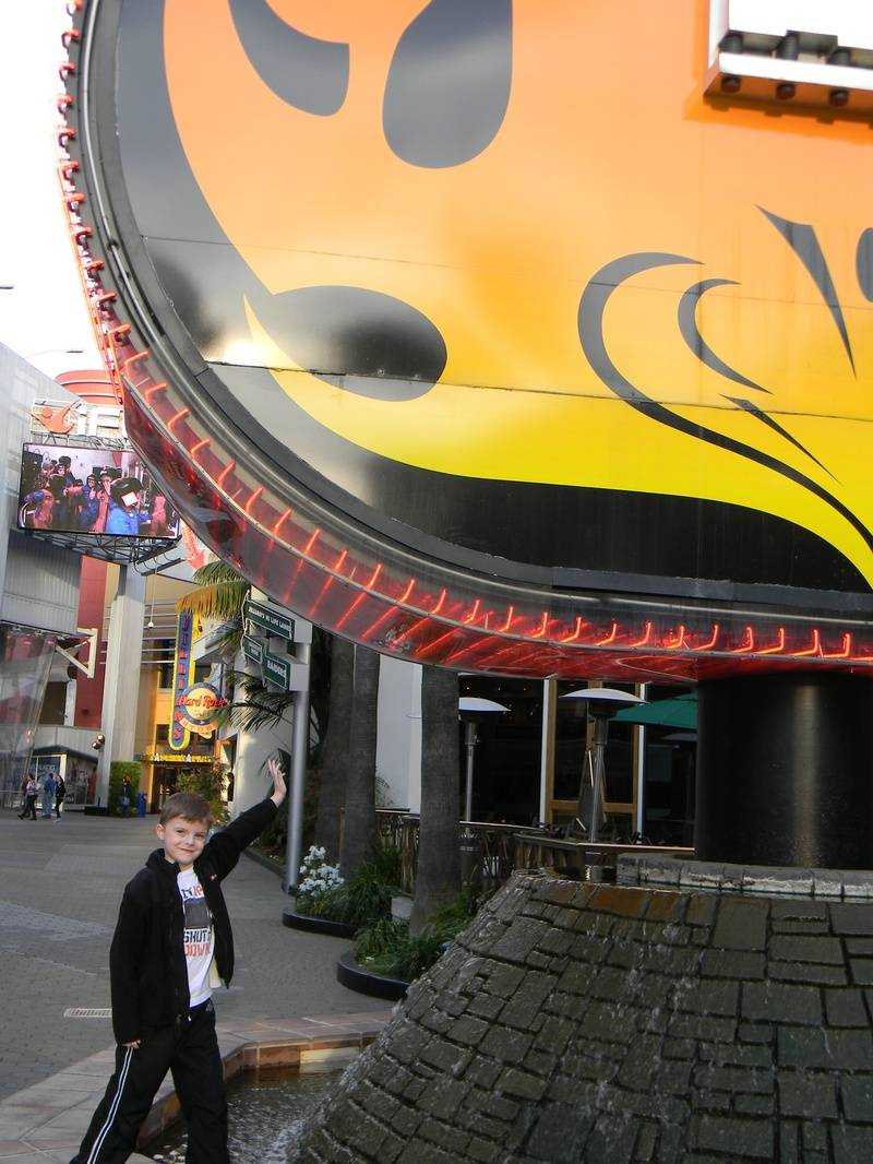 Riley at Hard Rock Hollywood