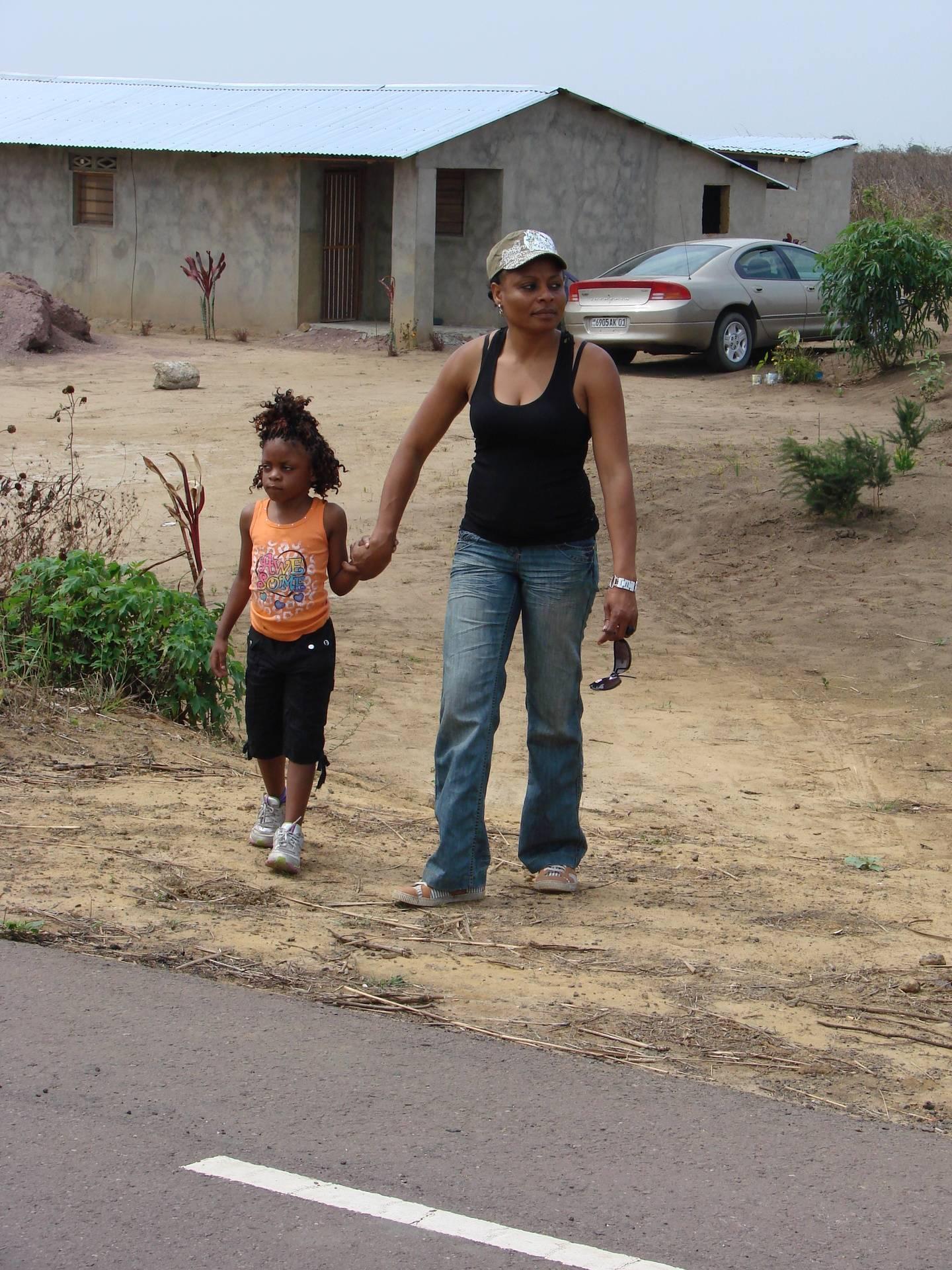 Co-fondatrice et sa fille