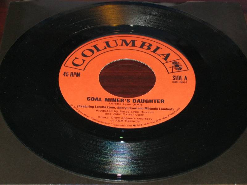 Coal Miner's Daughter NEW 45 2010