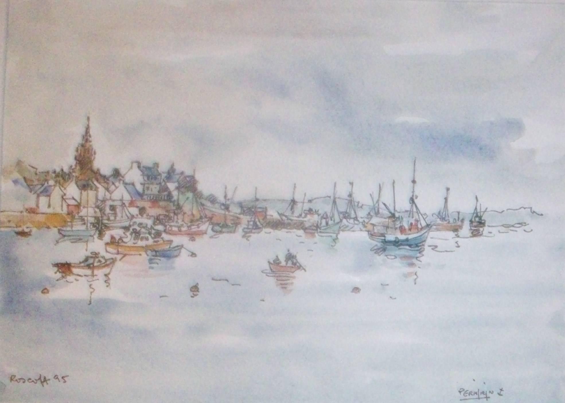 ROSCOFF Le port