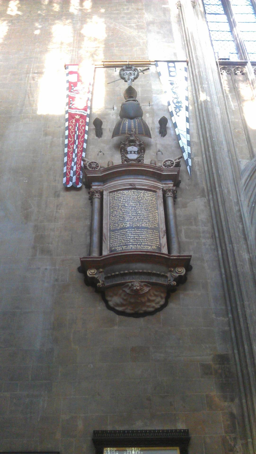 Memorial to Sir William Penn