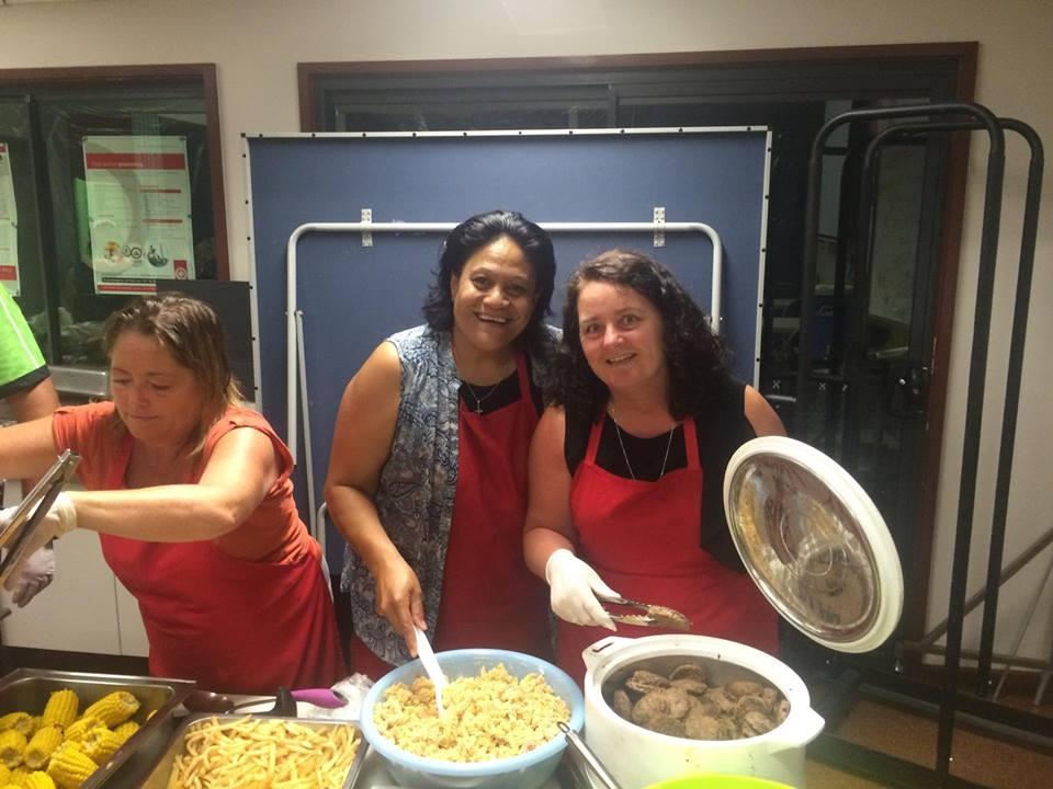 Mama Ange & Kathleen De Leon from Division 9 Logan city council