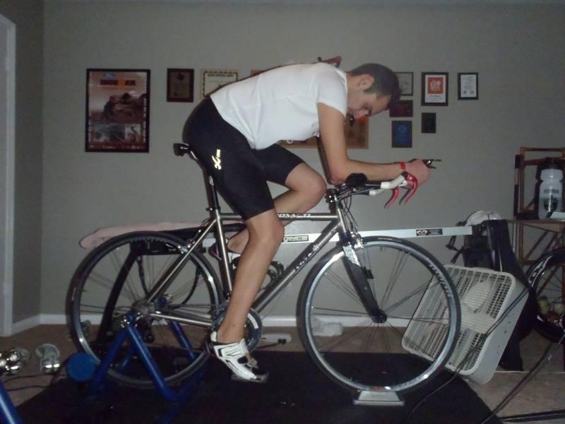 Roland Training hard