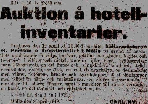 Turisthotellet 1918