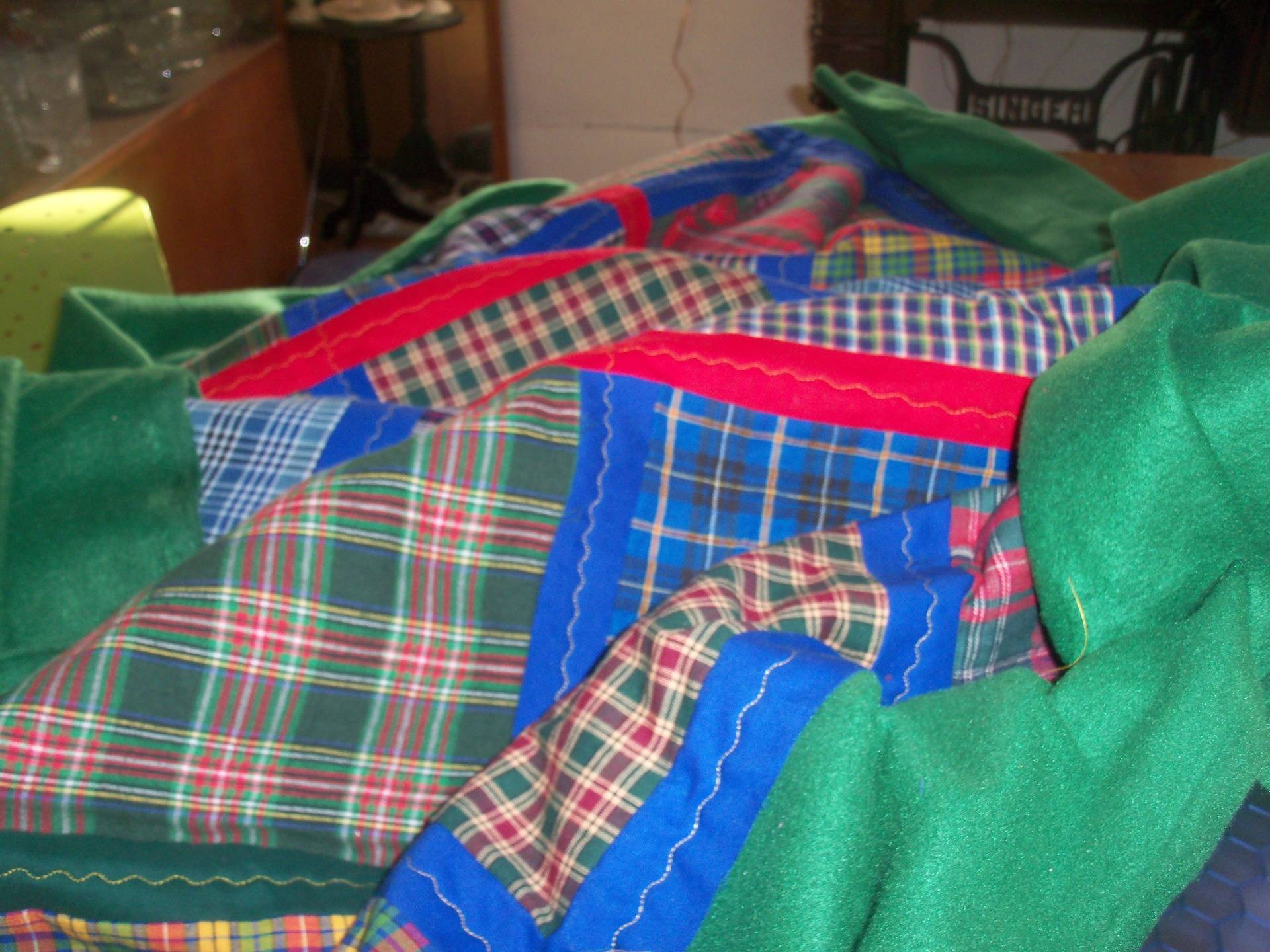 Two Tartans for Two Piper Brothers