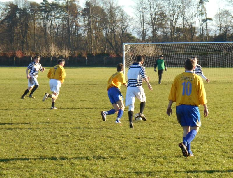 CROSSERS (NO.7) PLAYING FOR SAINTEES