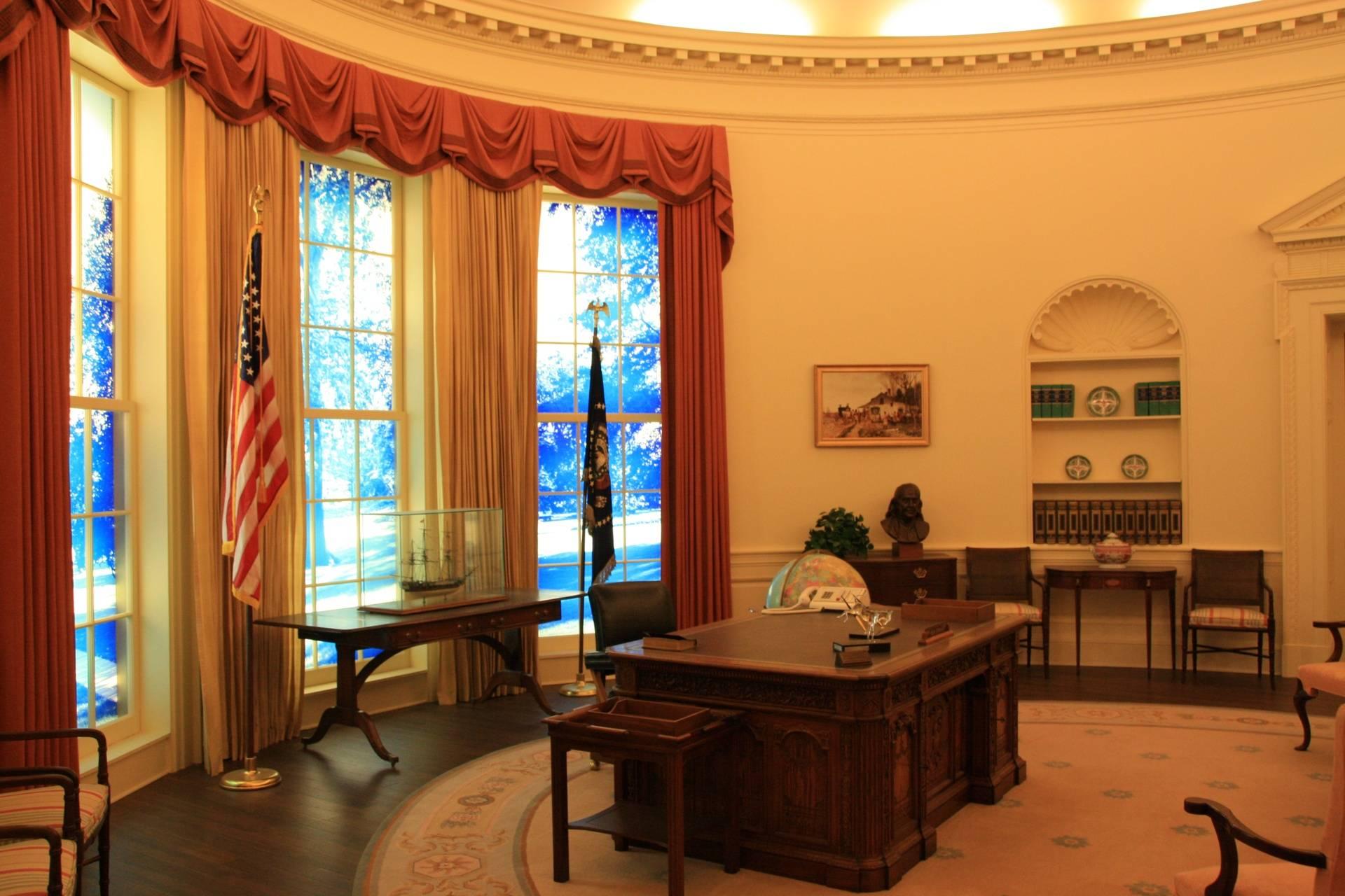 Oval Office at Carter Center, Atlanta GA
