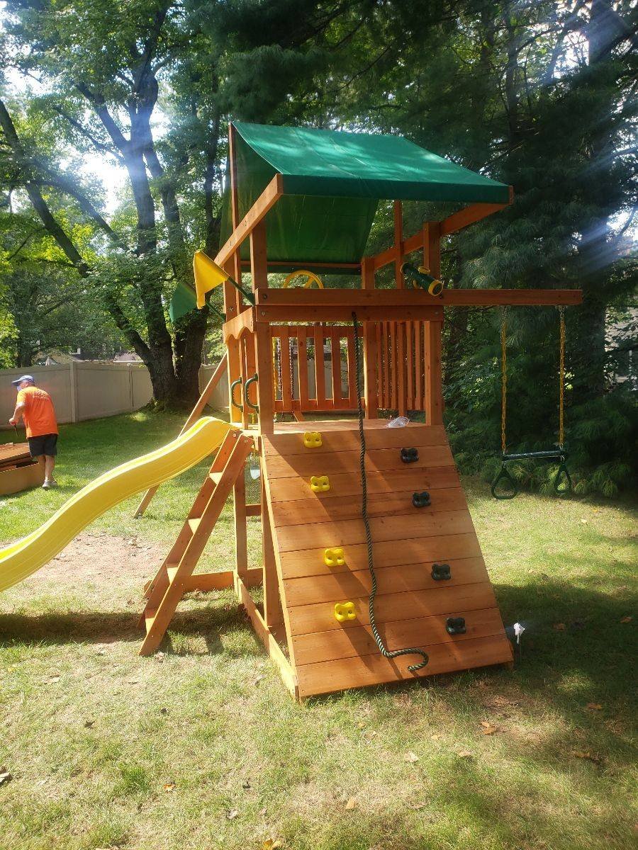 Gorilla playsets outing assembly in towson Maryland