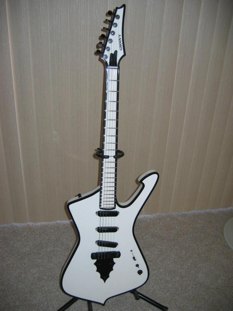 My Custom Built Iceman Built by Westwind Music of Saint George, Utah