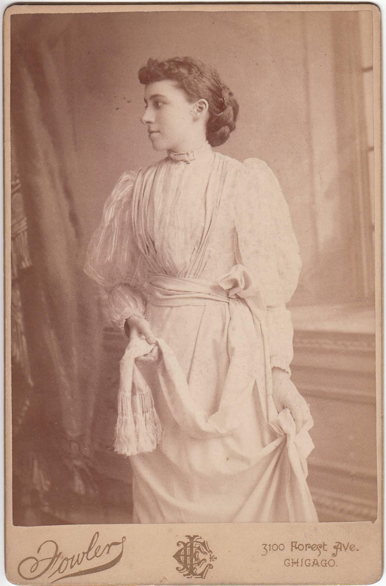 E. L. Fowler, photographer of Chicago, IL