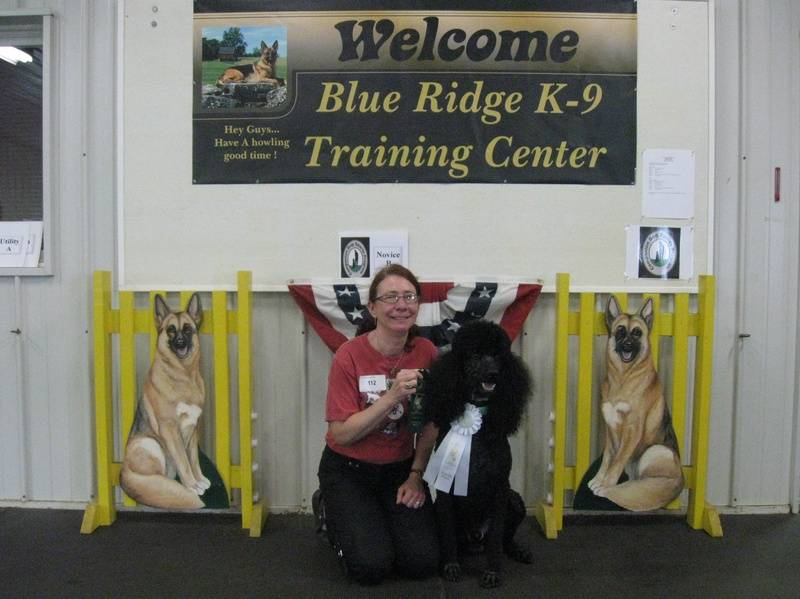 Maxwell winning fourth place in CDSP Novice and earning his first CD-C leg.  6/18/11.