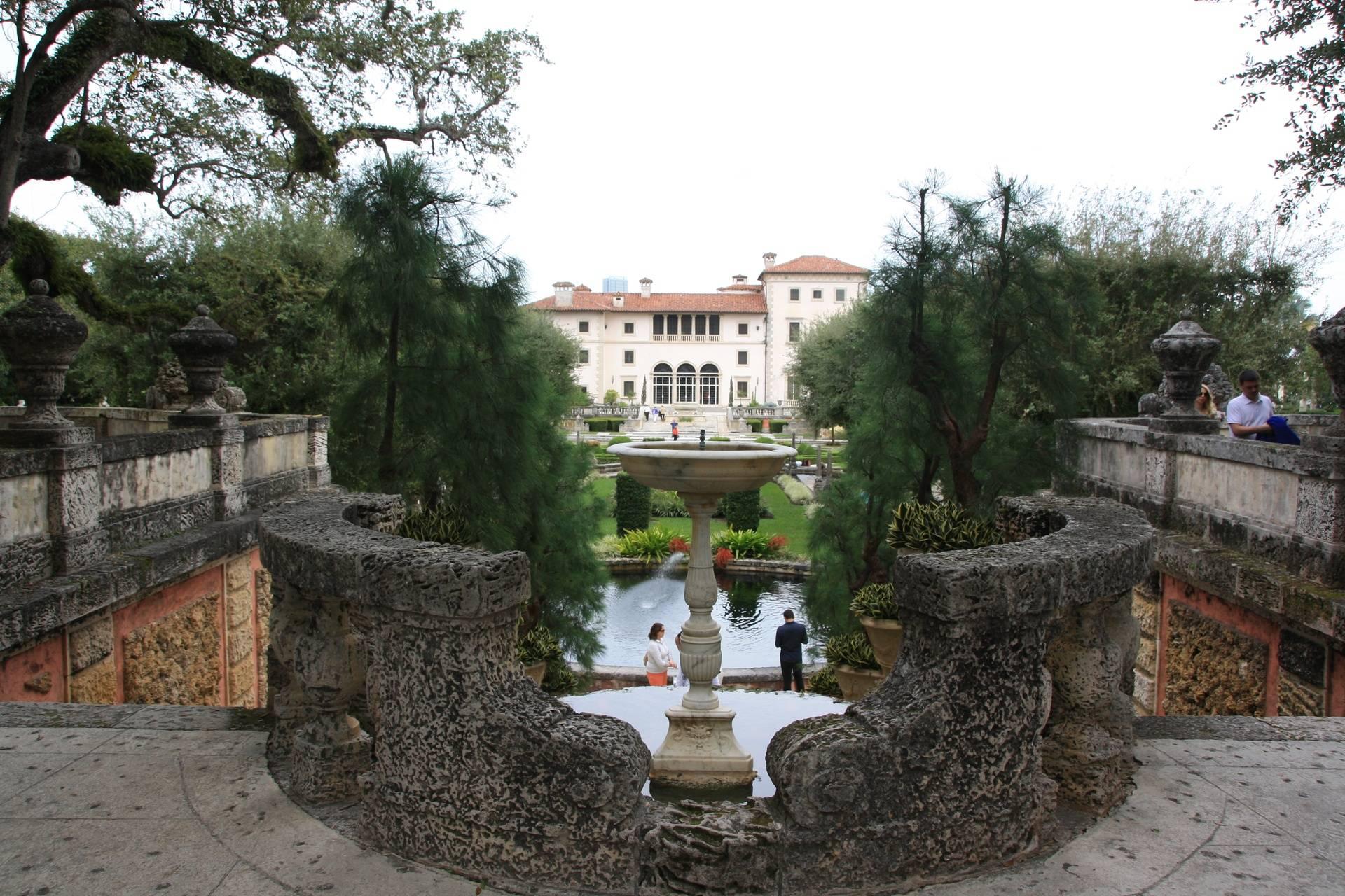 Vizcoya Museum & Gardens, Miami FL