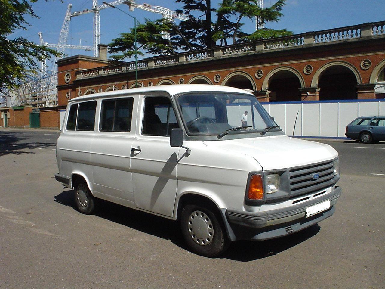 1980s 12 seat minibus