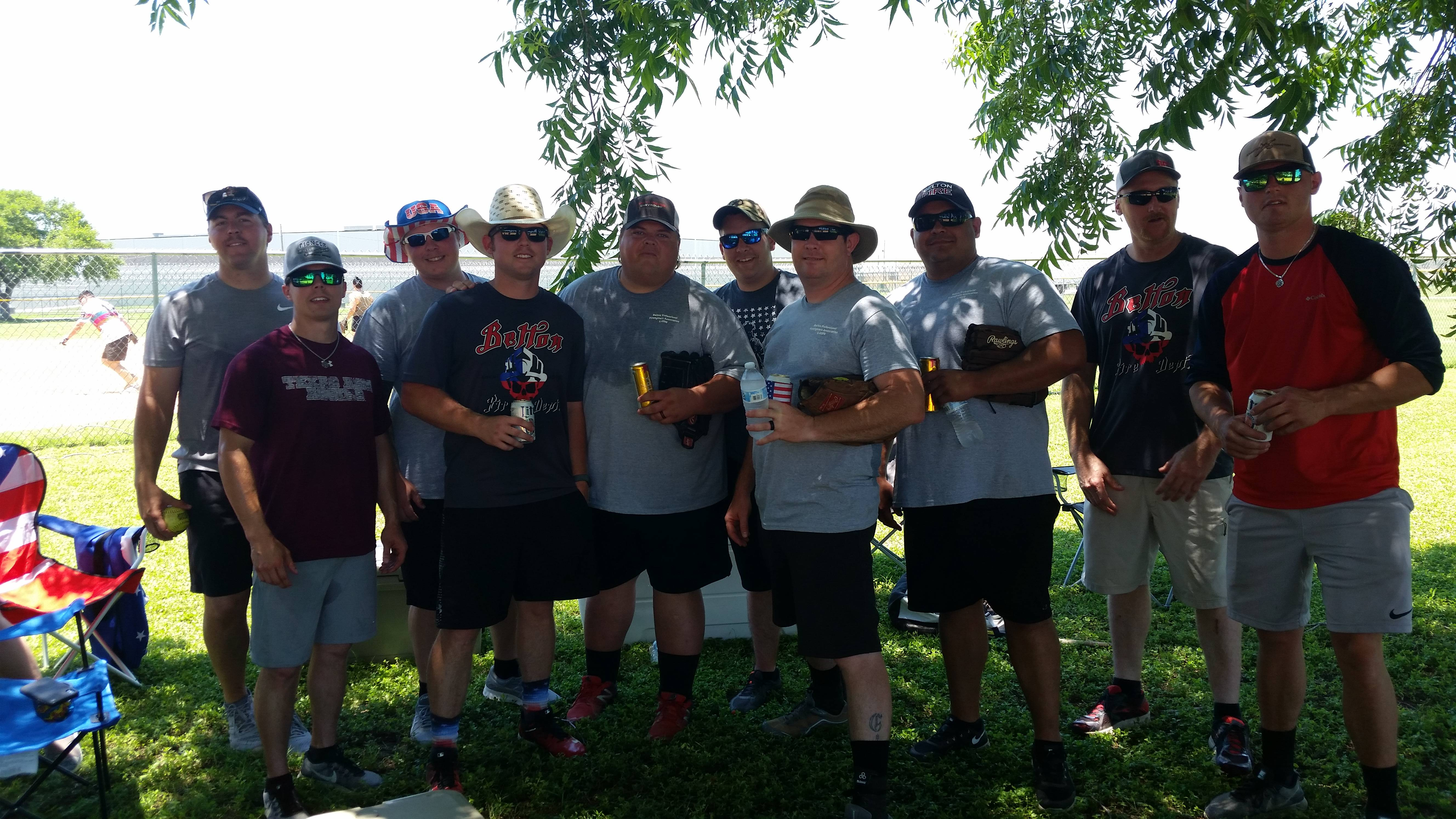Belton FD team has won 1st place three times in the history of this tournament