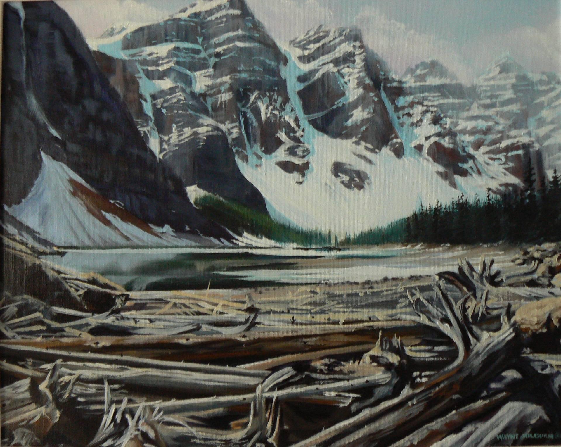 Moraine Lake Banff Park