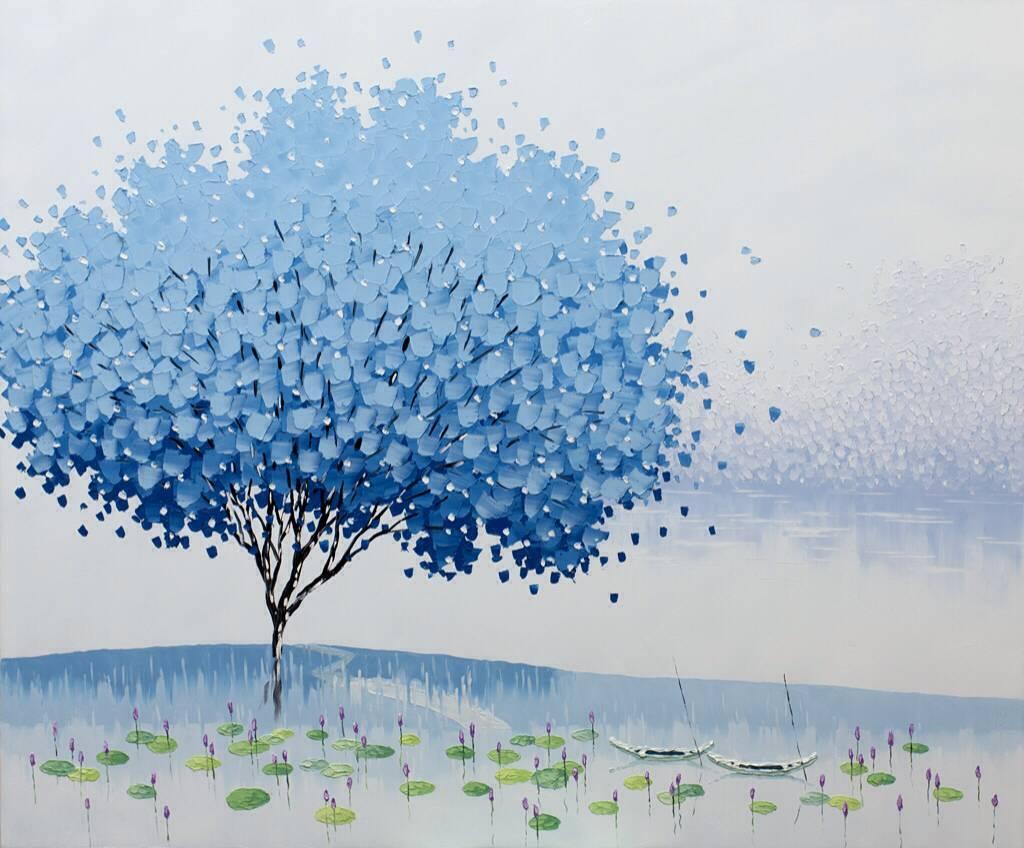 Peaceful Blue, 2013