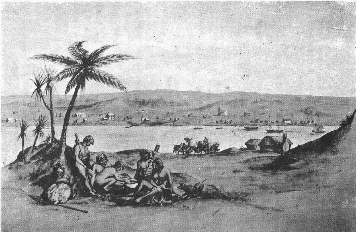 Wanganui From the South - J Gilfillan