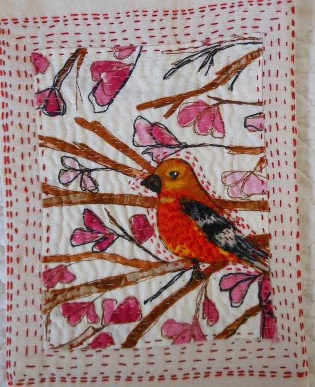 printed bird
