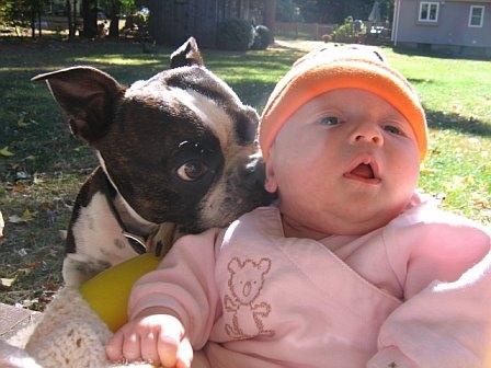 MURRY and new baby sis KAYLA