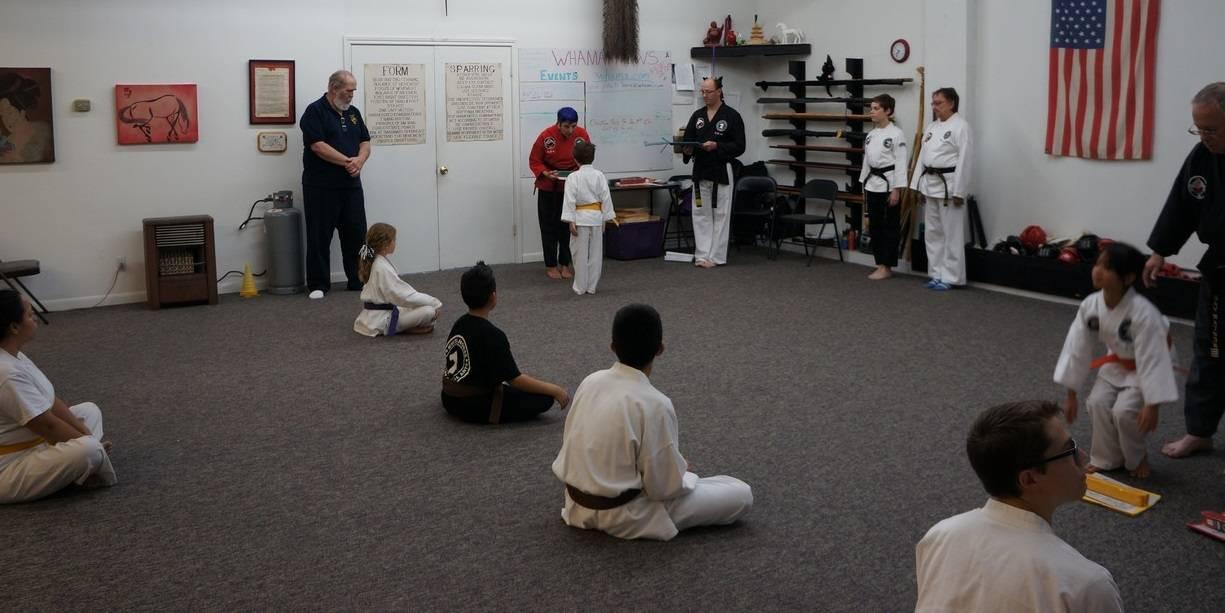December Belt Presentation