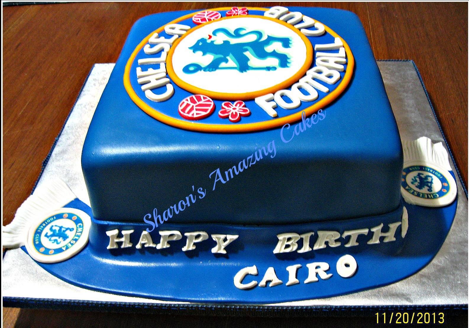 Cake 27G - Chelsea Cake