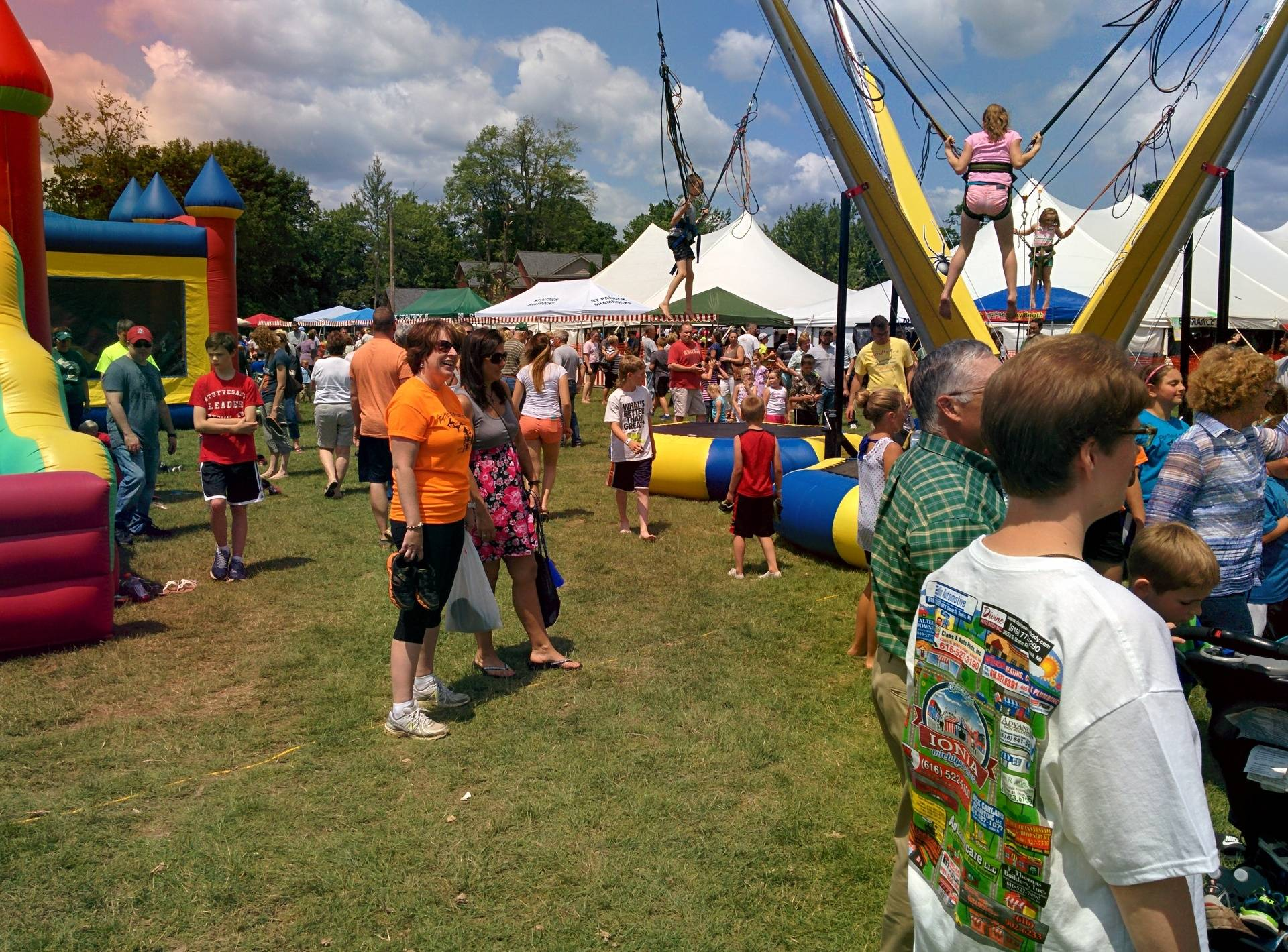 The Summerfest Midway.