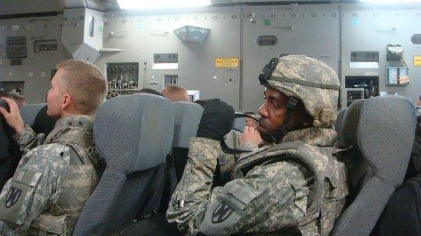 Marty Thompkins - Iraq/Army