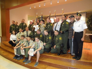 American Legion Saddleback Valley Post 862 Award Recognition