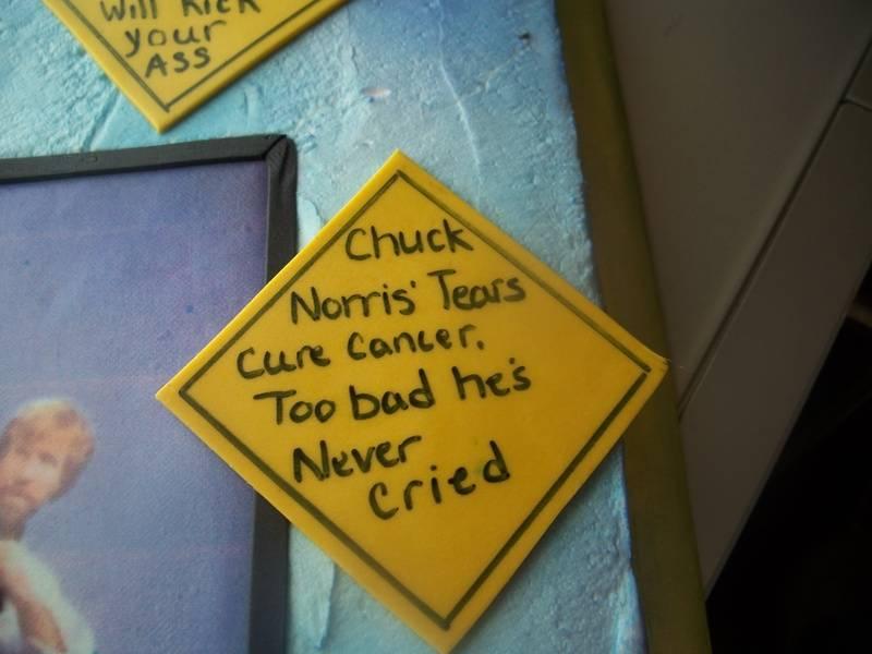 Chuck Norris (sayings)