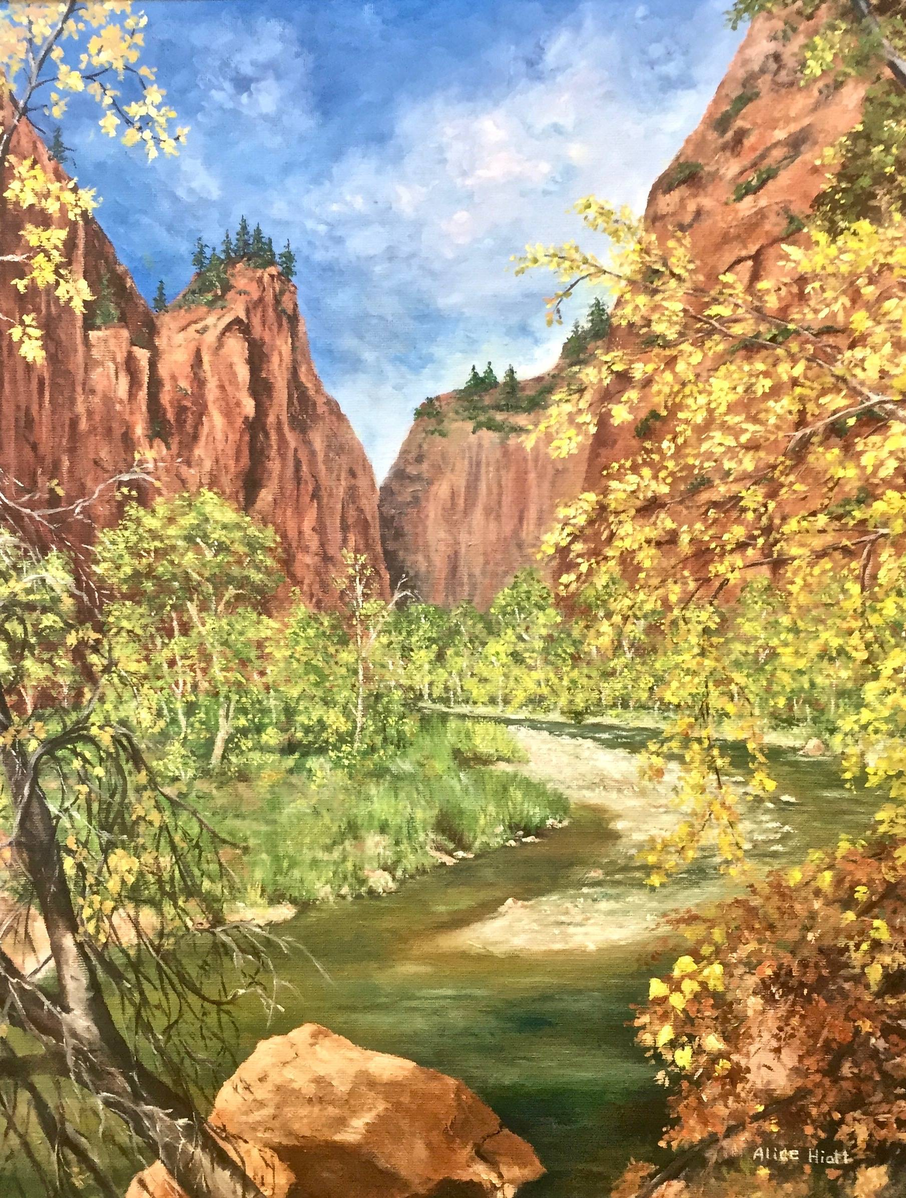Zion's River Walk