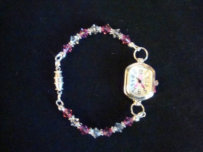 Breast Cancer Awareness Watch (Item #4034)  $20.00
