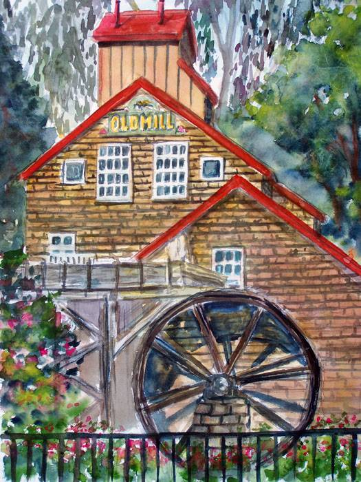 The Old Mill @ The Apple Farm (Portrait)