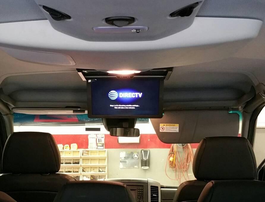 Sprinter Van Nesa 15 Overhead w KVH Sat Dome