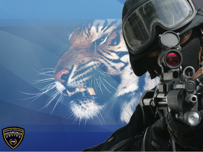 Macedonian Tigers Special Forces