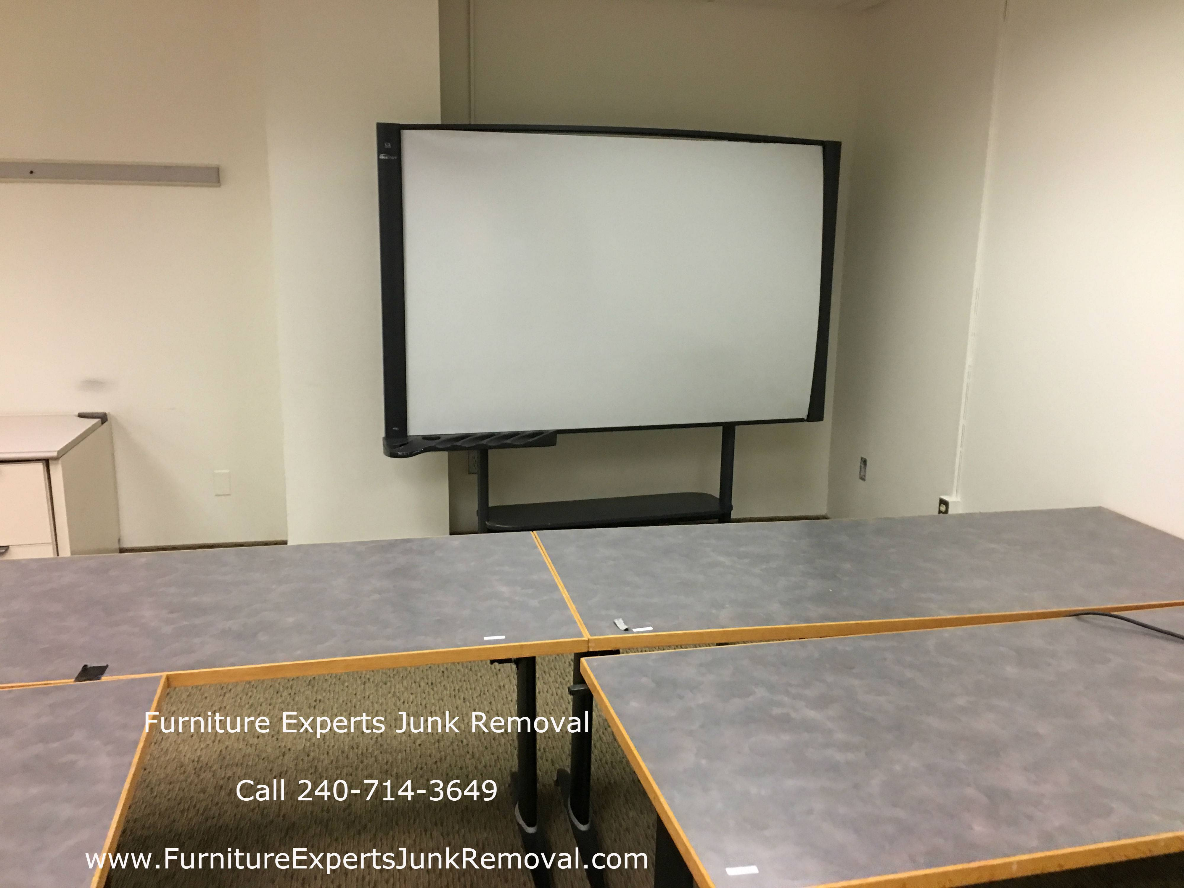 Junk office furniture removal in rockville MD