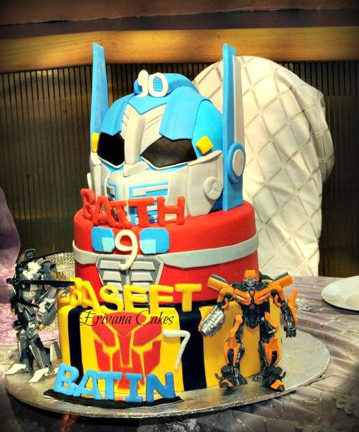 Transformer cake 3