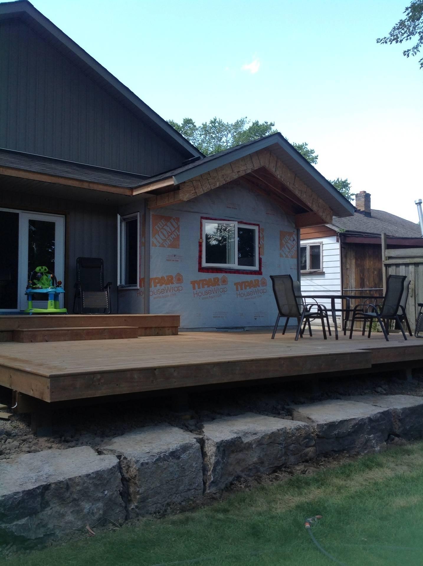 New Deck at 717 part 1