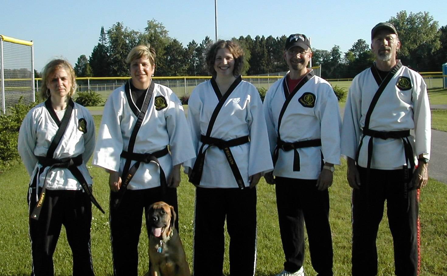 Black Belt Rank Awarded