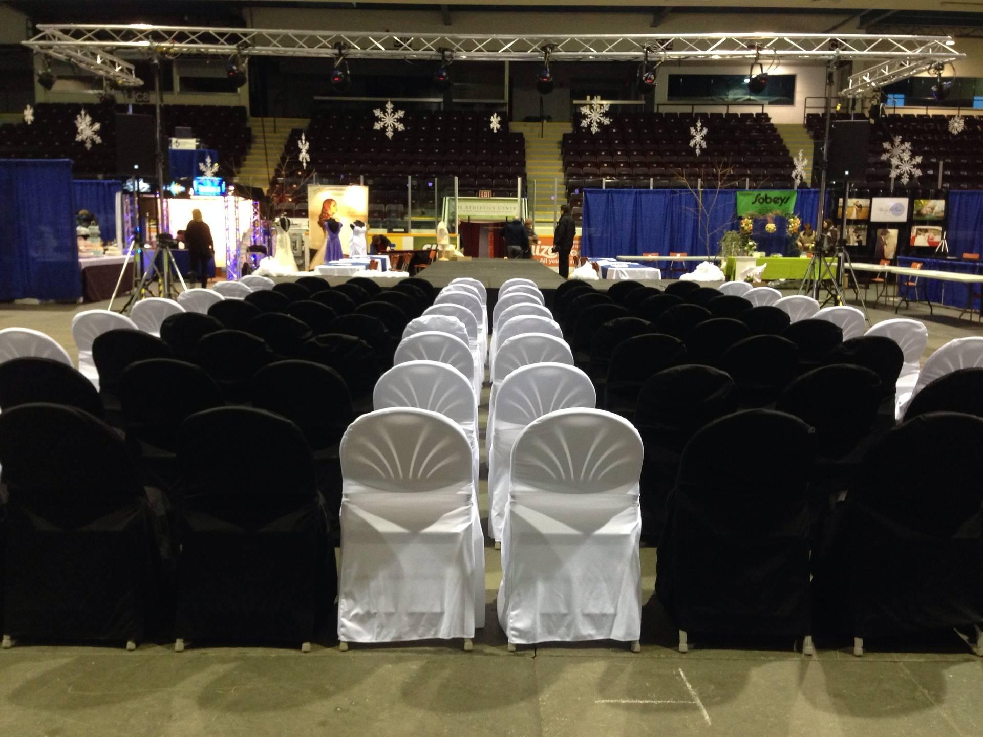 Wedding Show Decorating