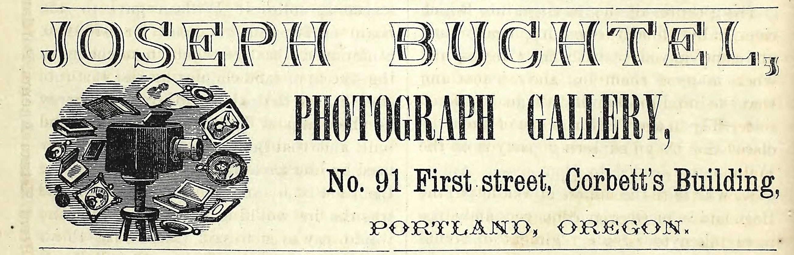 Joseph Buchtel, photographer, Portland, Oregon