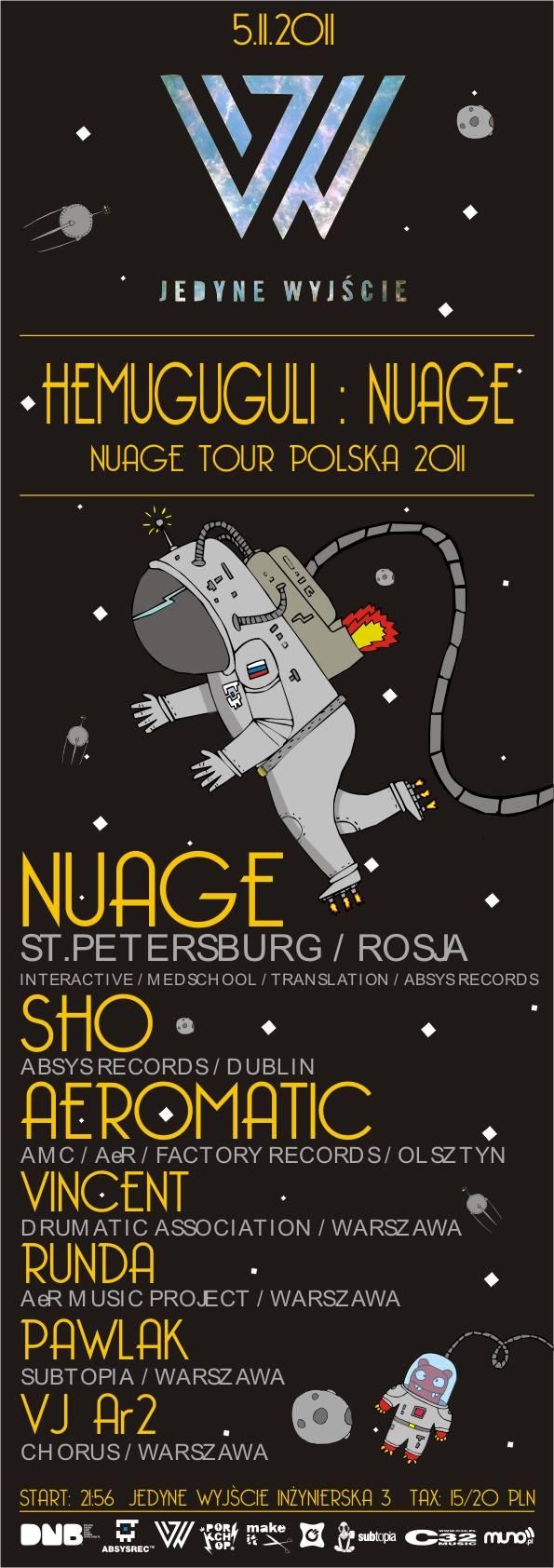 2011.11.05 - Hemuguguli : Nuage - Jedyne Wyjscie @ Warszawa